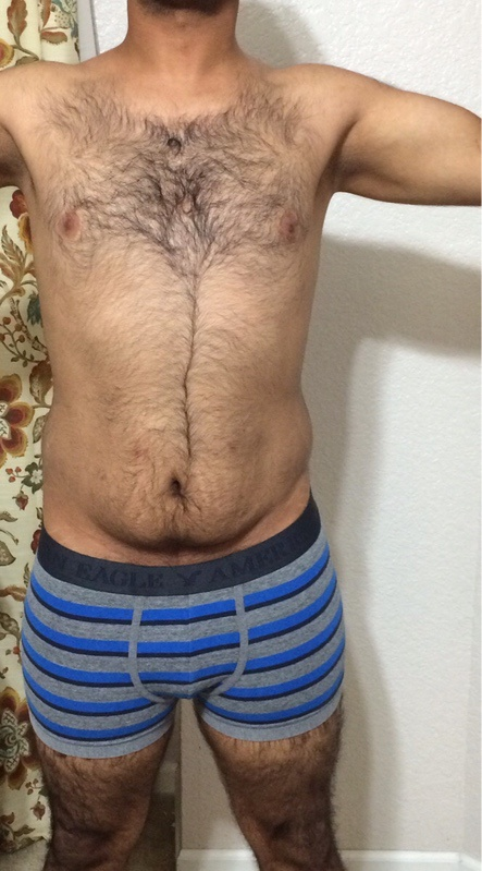1 Pictures of a 5'7 159 lbs Male Weight Snapshot