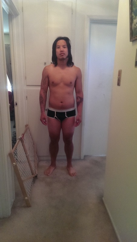 4 Photos of a 175 lbs 5'8 Male Weight Snapshot