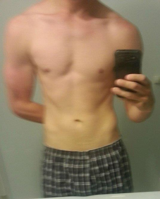 1 Pictures of a 6'2 180 lbs Male Weight Snapshot
