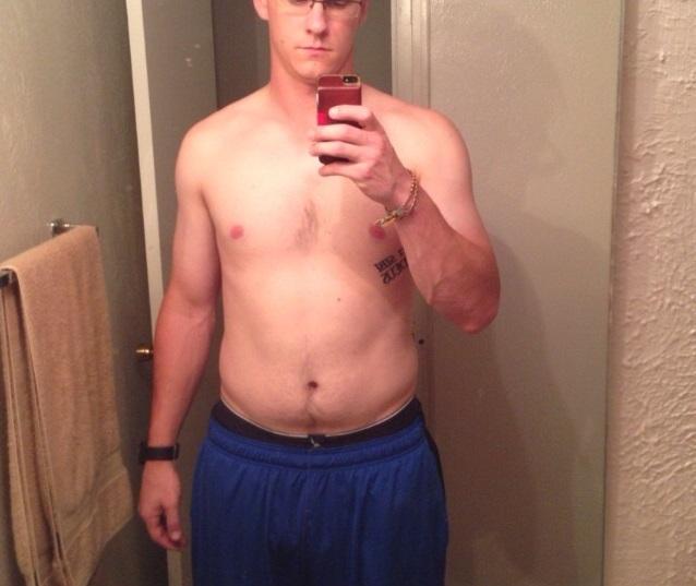 6 foot 3 Male 20 lbs Fat Loss 230 lbs to 210 lbs