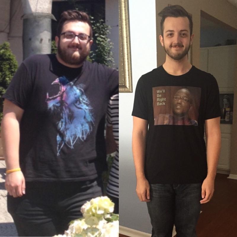 Progress Pics of 100 lbs Fat Loss 6'1 Male 323 lbs to 223 lbs