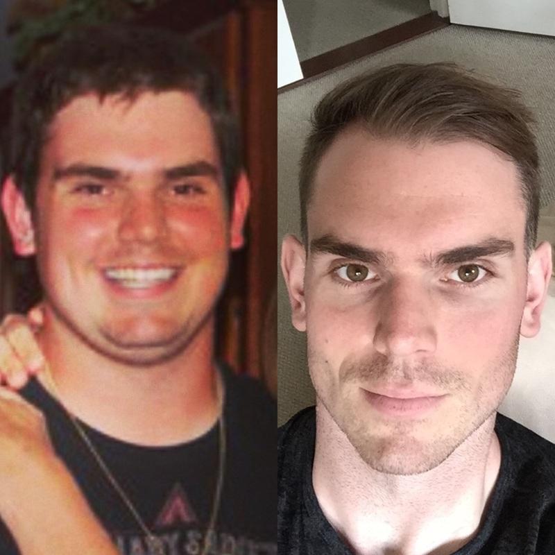 6 foot 5 Male Progress Pics of 89 lbs Fat Loss 309 lbs to 220 lbs