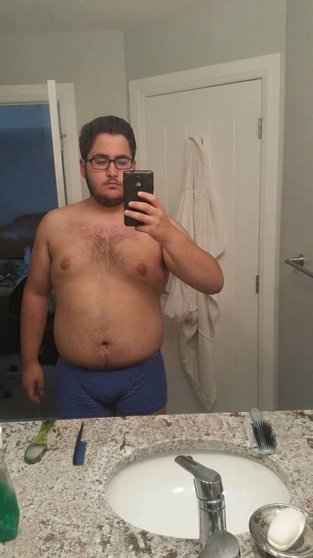 5 feet 11 Male Progress Pics of 38 lbs Fat Loss 297 lbs to 259 lbs