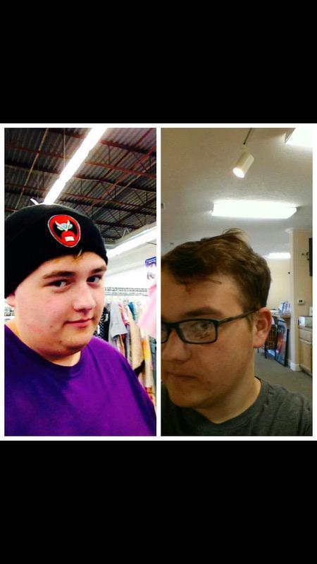 Progress Pics of 81 lbs Weight Loss 5 feet 6 Male 295 lbs to 214 lbs