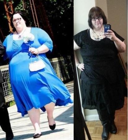 Progress Pics of 101 lbs Fat Loss 5'7 Female 396 lbs to 295 lbs