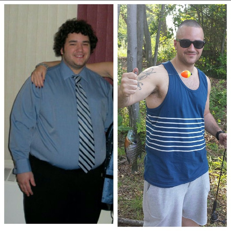 5'6 Male 101 lbs Weight Loss Before and After 287 lbs to 186 lbs