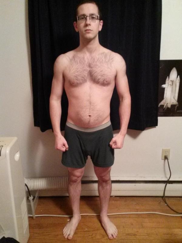 8 Pictures of a 5 feet 7 154 lbs Male Fitness Inspo