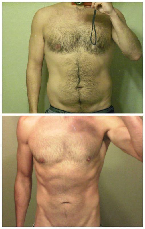 5 feet 9 Male 35 lbs Fat Loss 185 lbs to 150 lbs