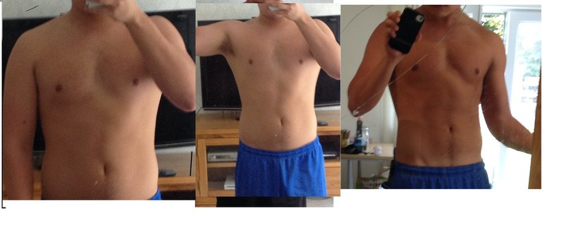 5'7 Male Progress Pics of 21 lbs Weight Loss 175 lbs to 154 lbs