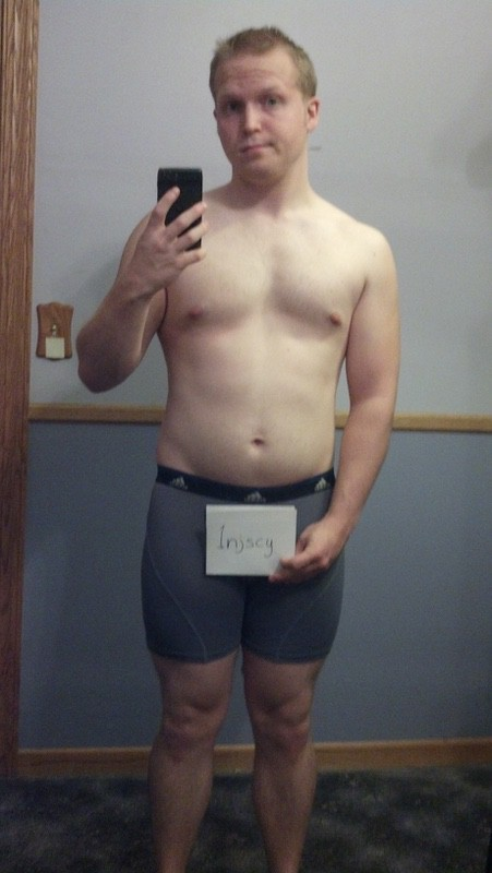 4 Pictures of a 175 lbs 5 foot 7 Male Weight Snapshot