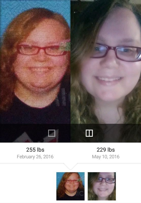 5 foot 1 Female 26 lbs Fat Loss Before and After 255 lbs to 229 lbs