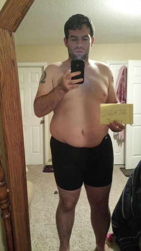 3 Photos of a 6 foot 1 281 lbs Male Weight Snapshot