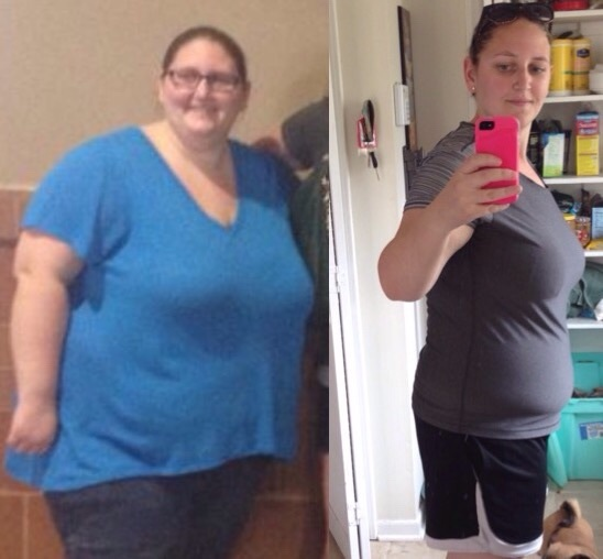 134 lbs Fat Loss Before and After 5 foot 6 Female 333 lbs to 199 lbs