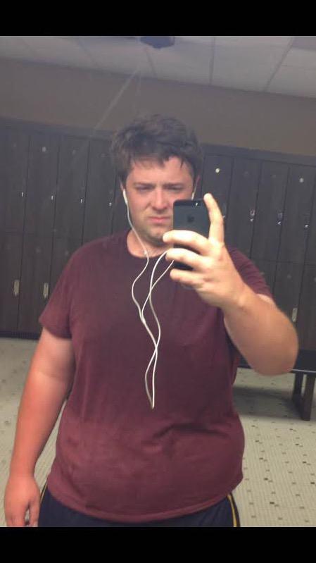 104 lbs Fat Loss 6'4 Male 359 lbs to 255 lbs