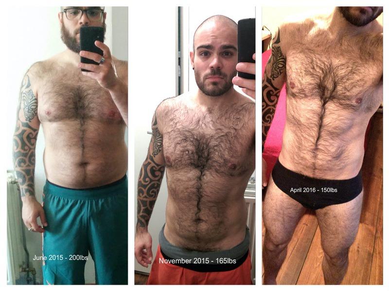 Progress Pics of 50 lbs Fat Loss 5 foot 6 Male 200 lbs to 150 lbs