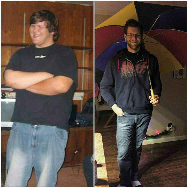 147 lbs Fat Loss 6 foot 7 Male 397 lbs to 250 lbs