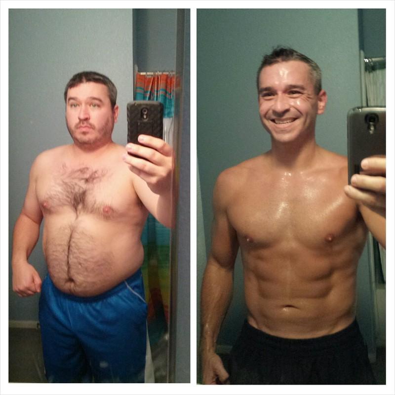 5 feet 7 Male 55 lbs Weight Loss 215 lbs to 160 lbs