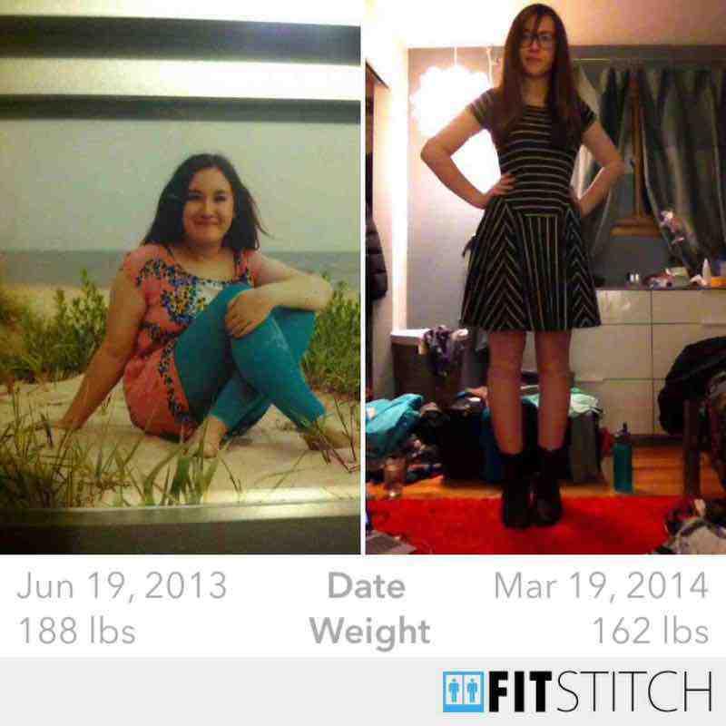 5 feet 10 Female 26 lbs Fat Loss 188 lbs to 162 lbs