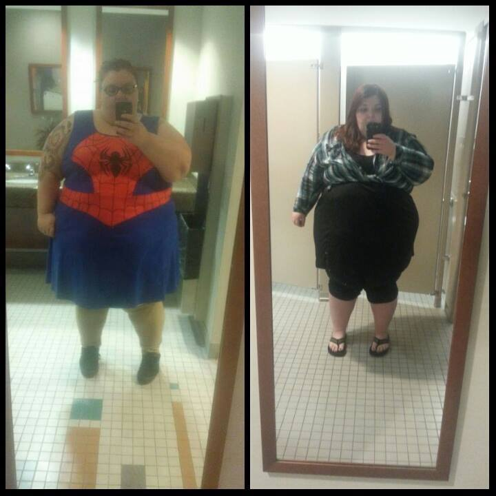 43 lbs Fat Loss 5'4 Female 501 lbs to 458 lbs