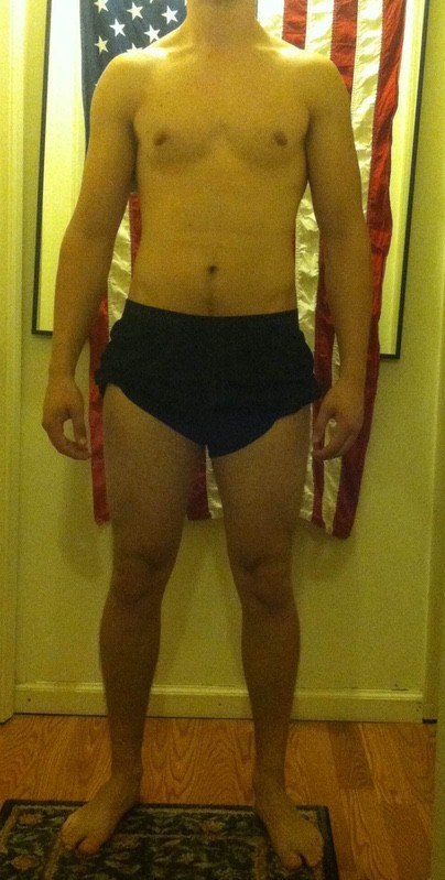 5 Pictures of a 6'2 192 lbs Male Fitness Inspo
