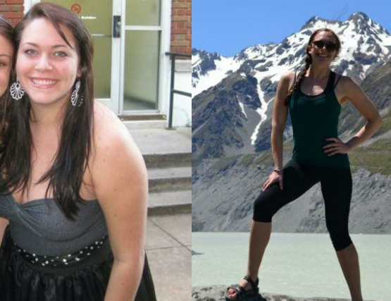 78 lbs Weight Loss Before and After 5'8 Female 210 lbs to 132 lbs