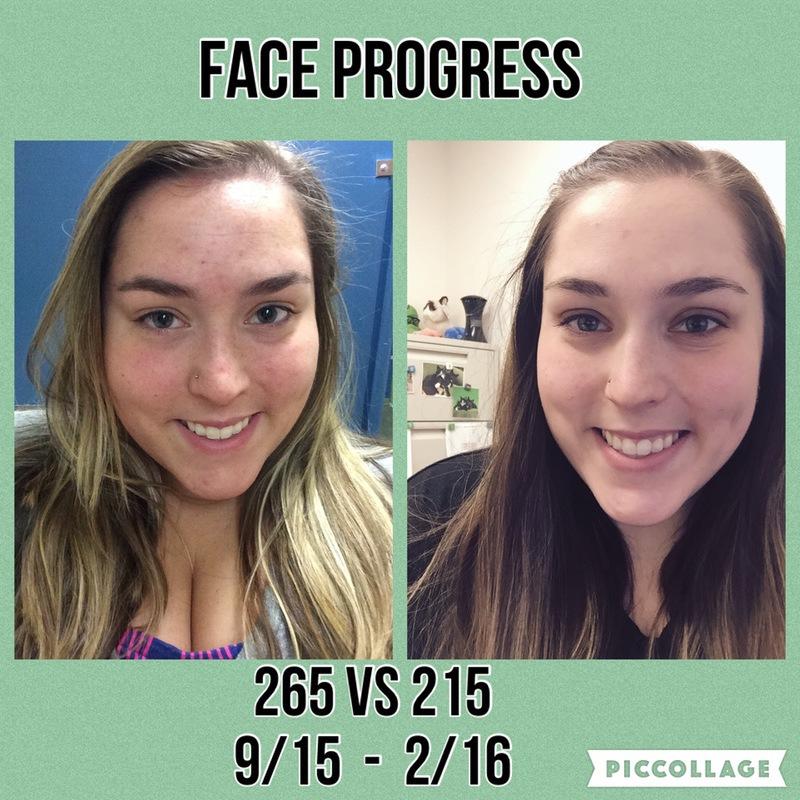 5'1 Female Progress Pics of 50 lbs Weight Loss 265 lbs to 215 lbs
