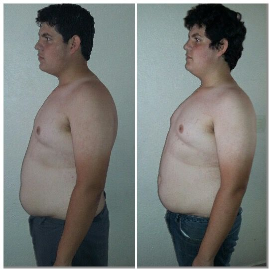 5 foot 7 Male 24 lbs Fat Loss Before and After 253 lbs to 229 lbs