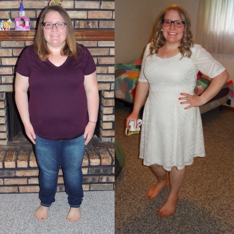 Progress Pics of 50 lbs Weight Loss 5 feet 1 Female 218 lbs to 168 lbs