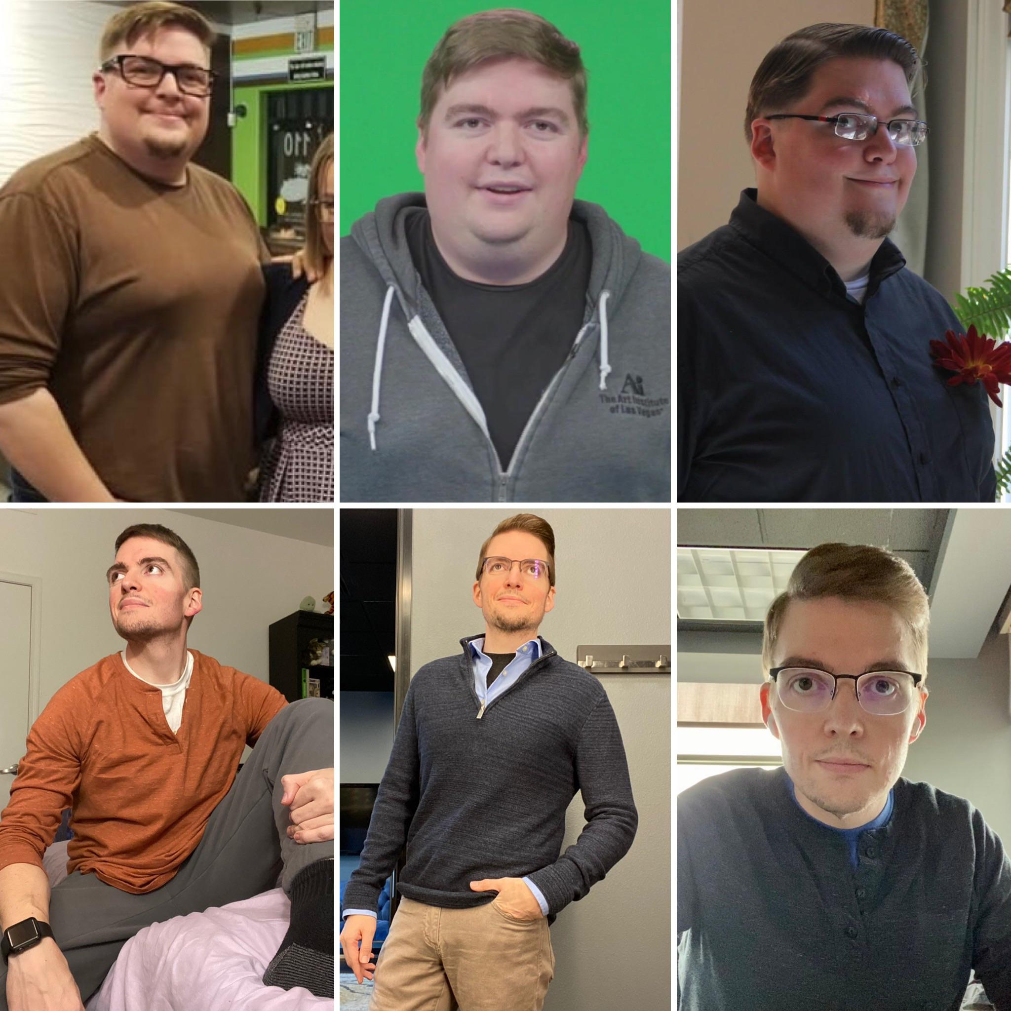 Progress Pics of 123 lbs Weight Loss 5 feet 10 Male 282 lbs to 159 lbs