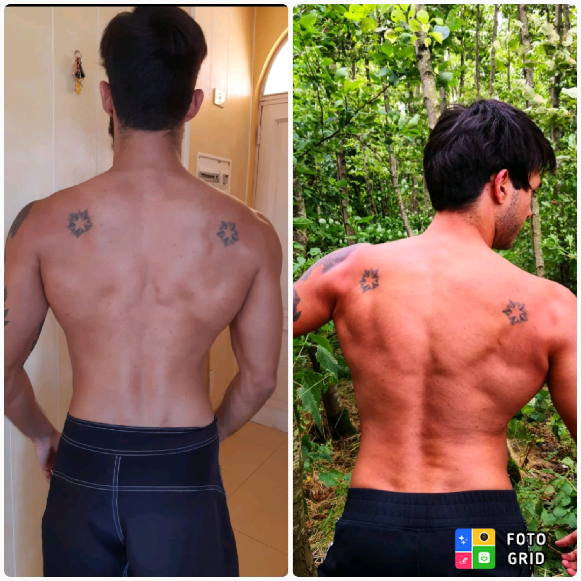 17 lbs Weight Gain Before and After 5 foot 7 Male 130 lbs to 147 lbs