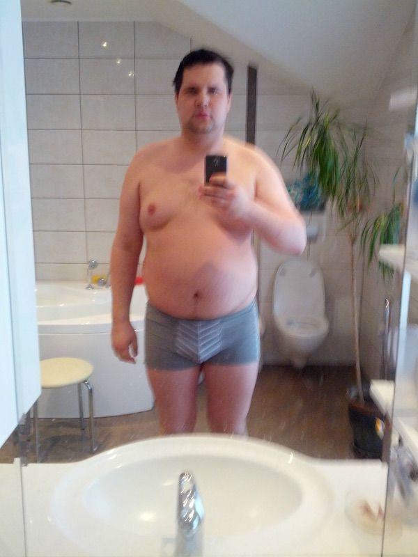 6 foot 4 Male Progress Pics of 75 lbs Fat Loss 291 lbs to 216 lbs