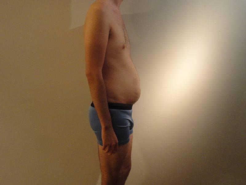 3 Photos of a 195 lbs 6 feet 5 Male Weight Snapshot