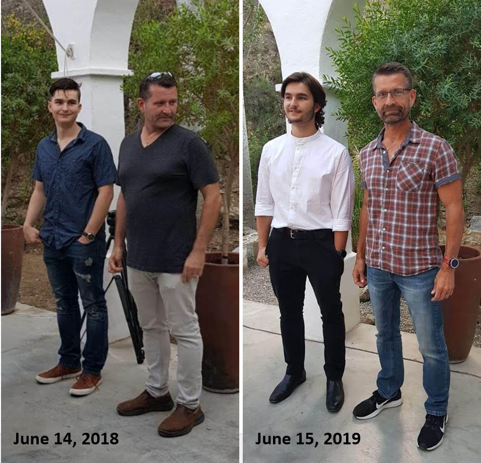 5'10 Male 35 lbs Fat Loss Before and After 195 lbs to 160 lbs