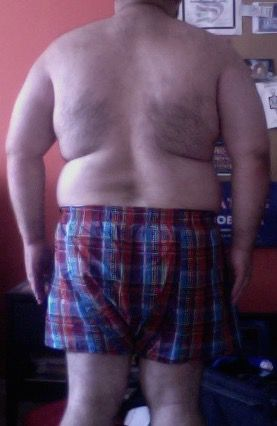 4 Pictures of a 245 lbs 5 foot 5 Male Fitness Inspo