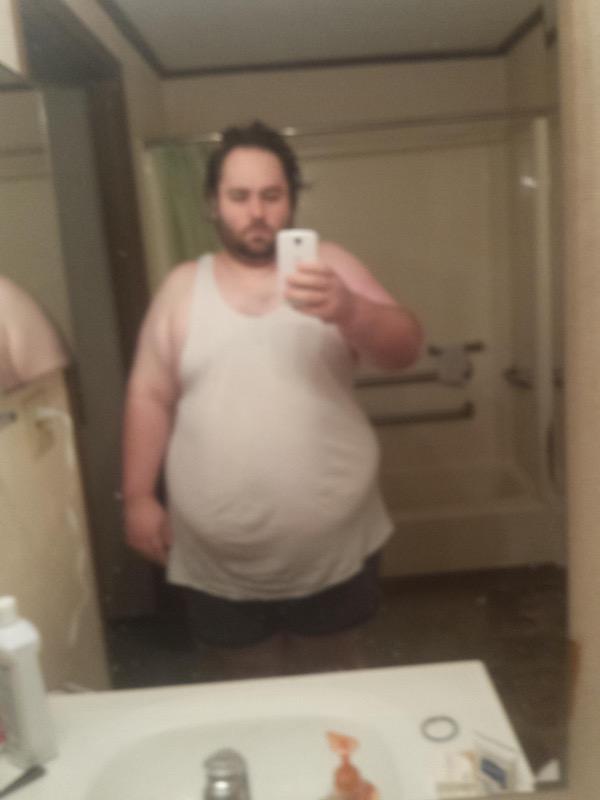 Progress Pics of 29 lbs Fat Loss 5 foot 7 Male 360 lbs to 331 lbs