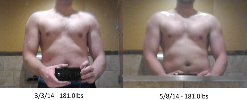 1 Pictures of a 5'11 181 lbs Male Weight Snapshot