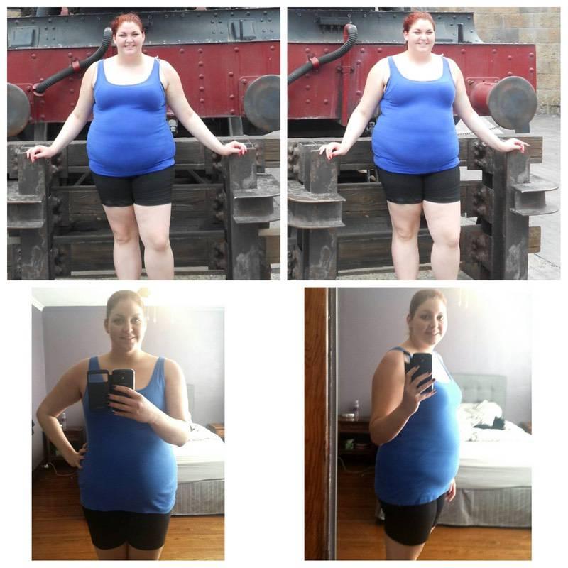 Progress Pics of 50 lbs Weight Loss 5 feet 10 Female 281 lbs to 231 lbs