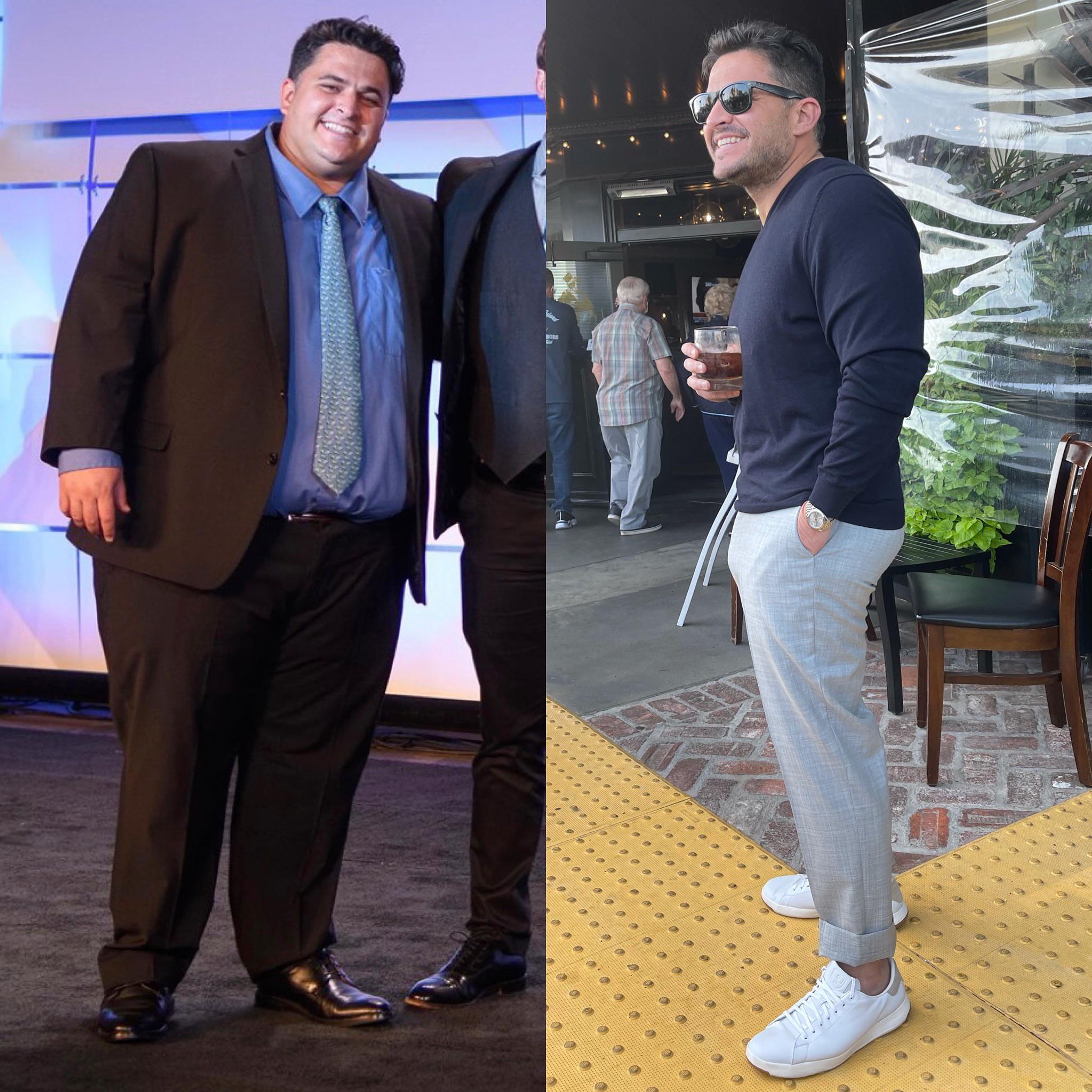 5'9 Male Progress Pics of 175 lbs Weight Loss 400 lbs to 225 lbs