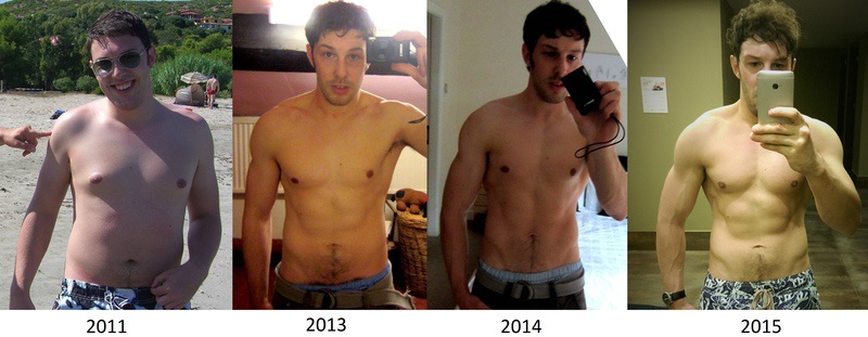 5 foot 10 Male Before and After 35 lbs Weight Loss 182 lbs to 147 lbs