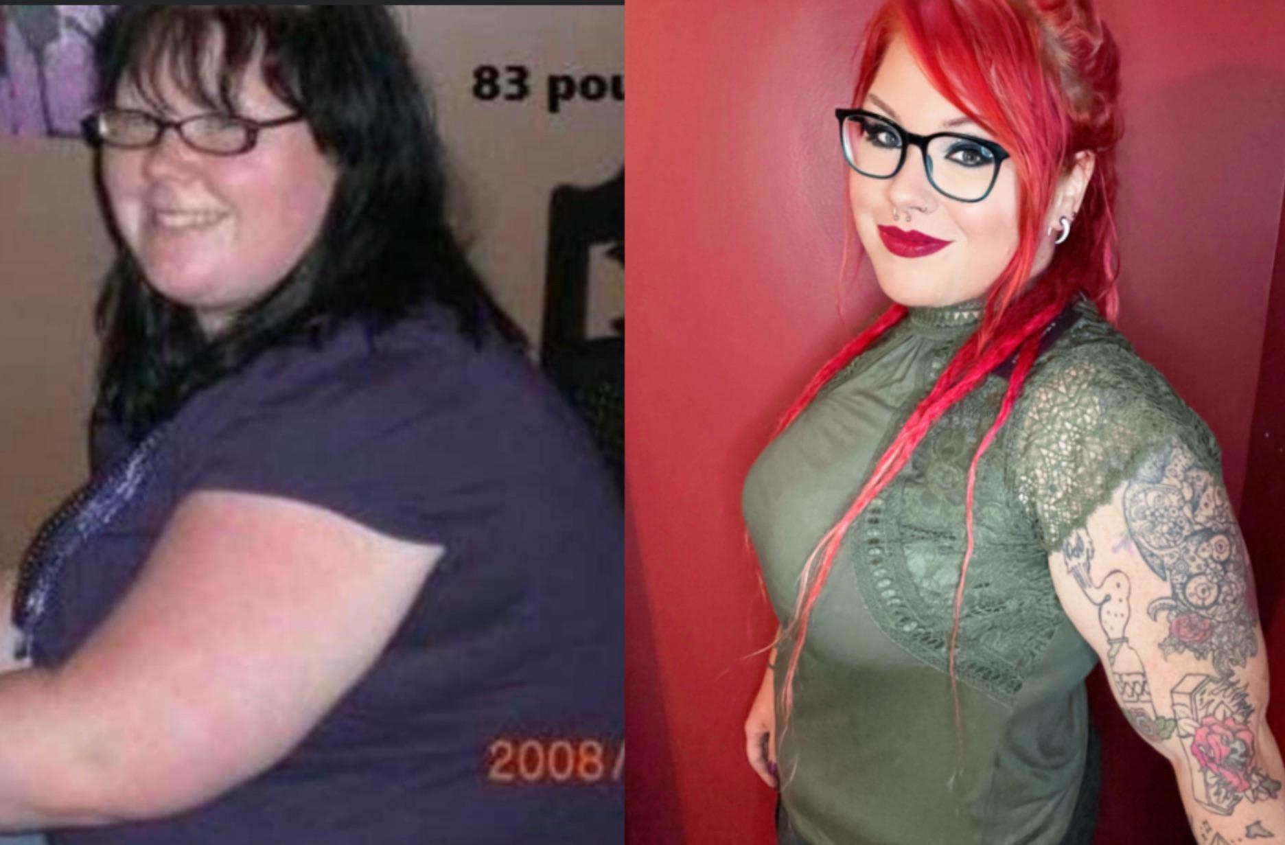 5 foot 4 Female Progress Pics of 66 lbs Fat Loss 273 lbs to 207 lbs