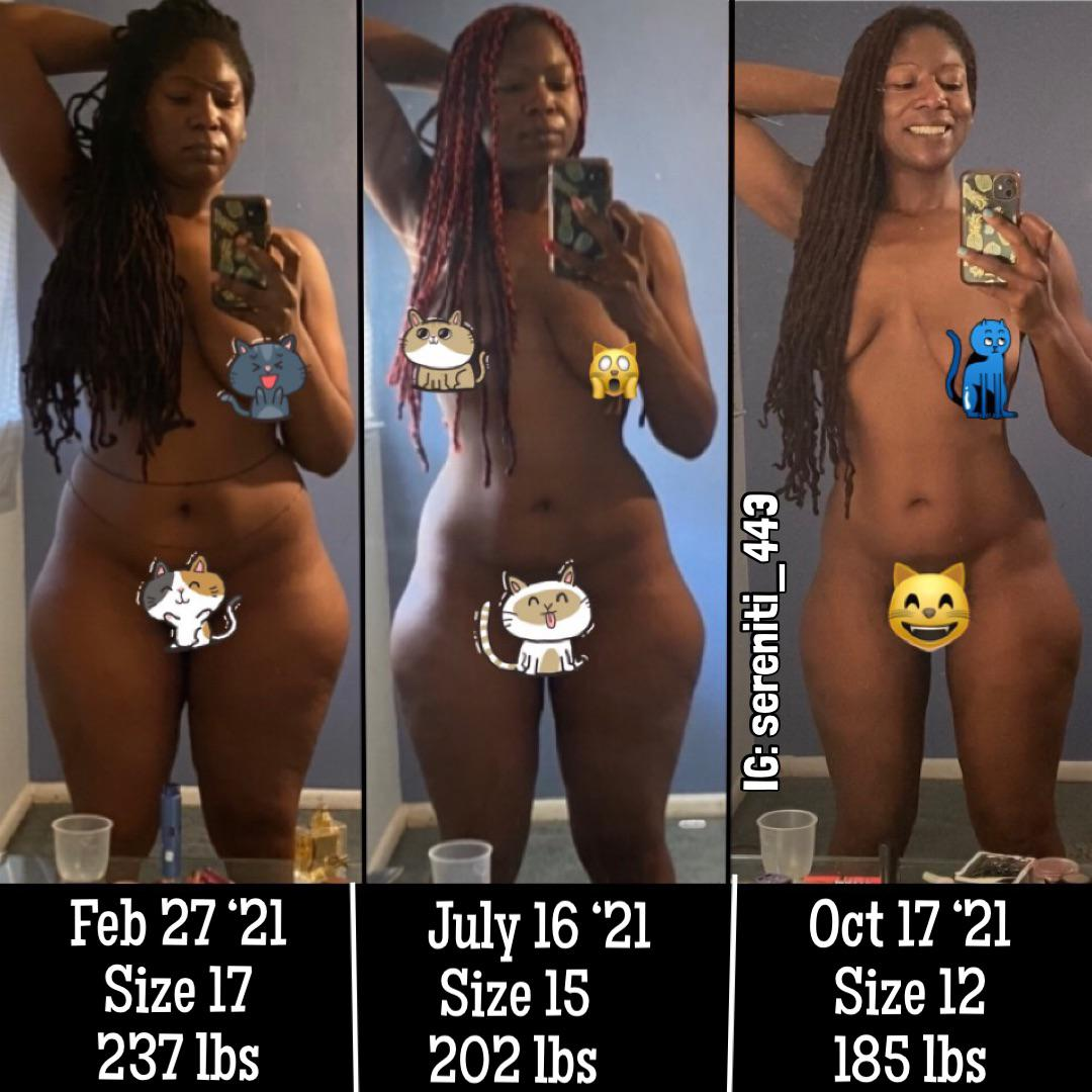 5 foot 11 Female 52 lbs Fat Loss Before and After 237 lbs to 185 lbs