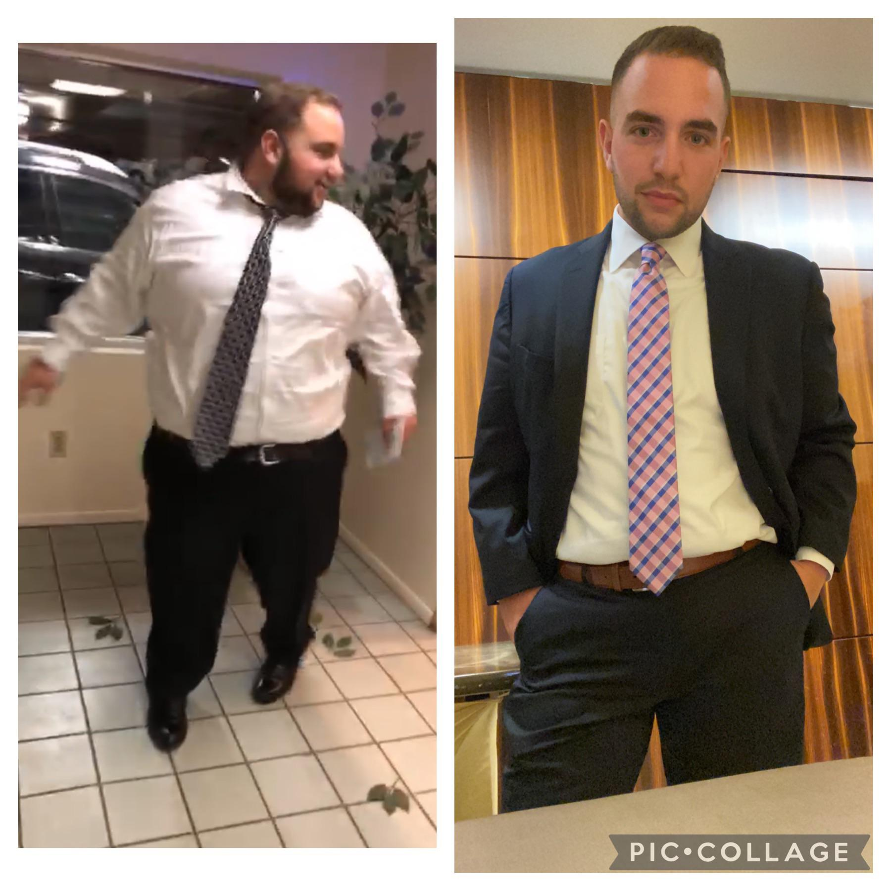 5 foot 10 Male 172 lbs Weight Loss Before and After 384 lbs to 212 lbs