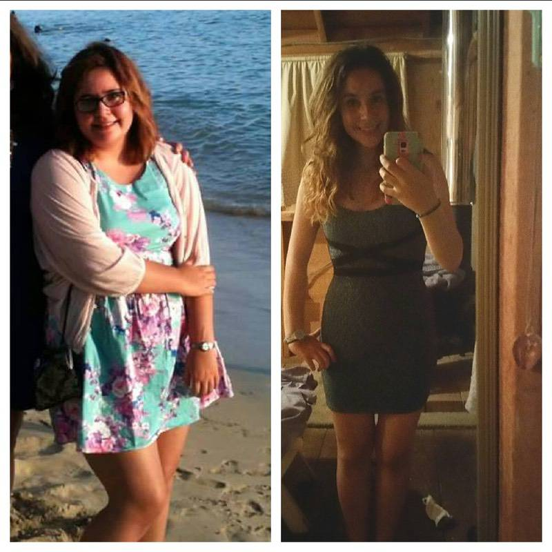 Progress Pics of 92 lbs Fat Loss 5 foot 6 Female 227 lbs to 135 lbs