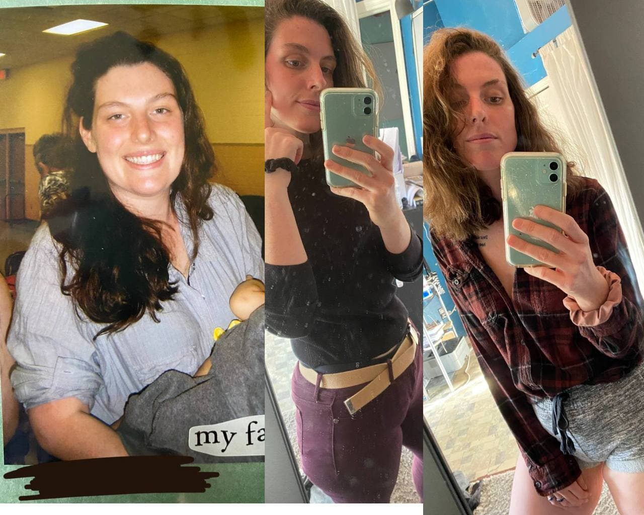 85 lbs Weight Loss Before and After 5'11 Female 240 lbs to 155 lbs