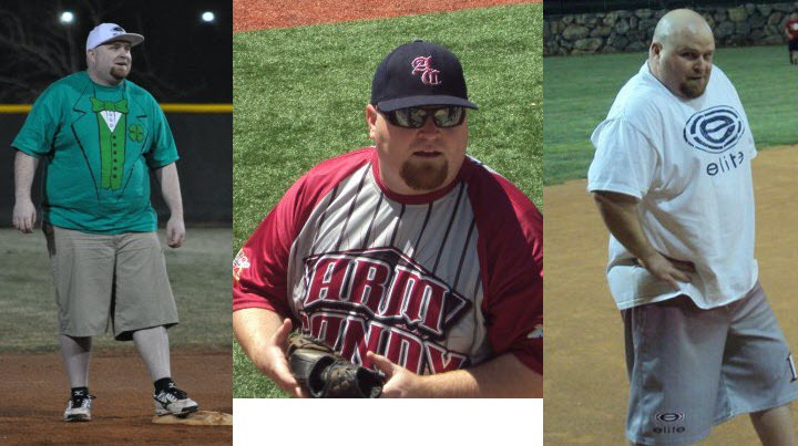 105 lbs Weight Loss 5'9 Male 290 lbs to 185 lbs
