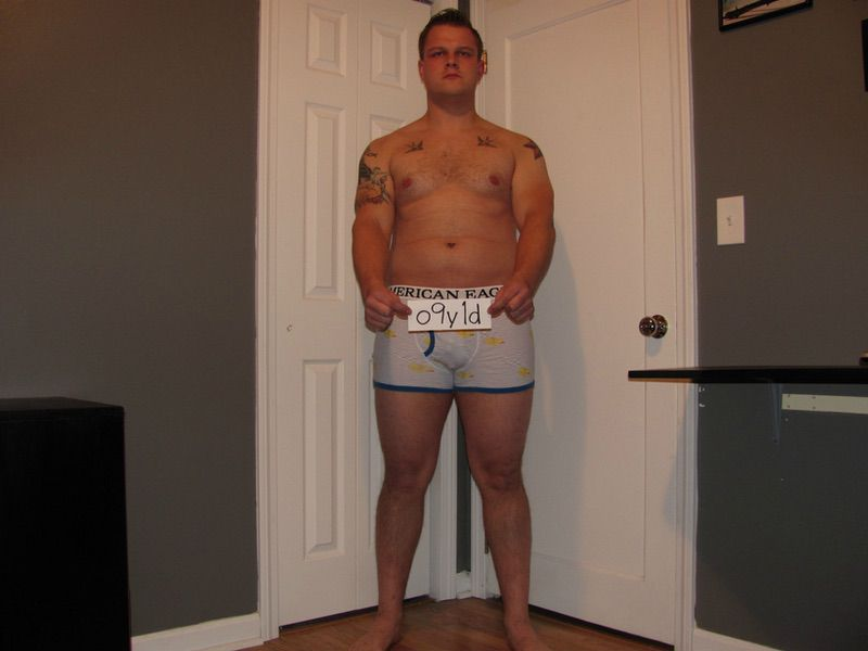 4 Pictures of a 233 lbs 6 foot Male Fitness Inspo