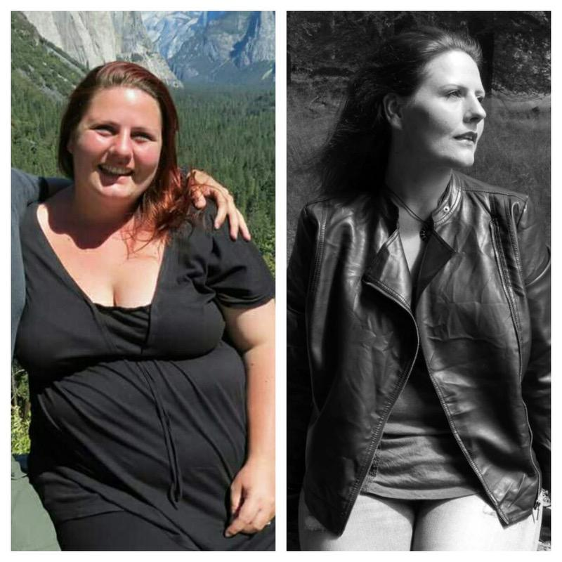 5 foot 8 Female Before and After 155 lbs Weight Loss 352 lbs to 197 lbs