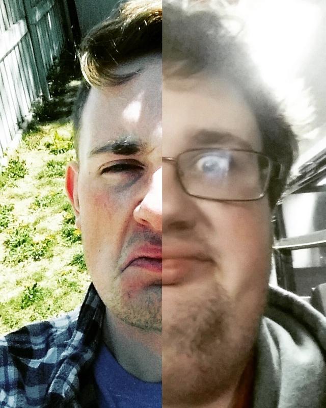 Progress Pics of 55 lbs Weight Loss 5 foot 8 Male 220 lbs to 165 lbs