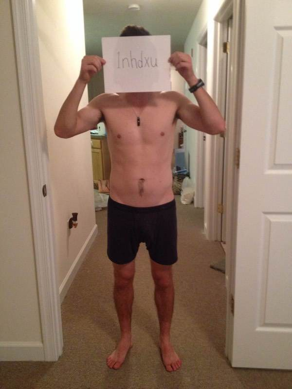4 Pics of a 5 foot 7 136 lbs Male Fitness Inspo