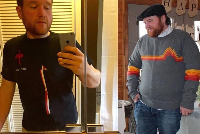 5 feet 6 Male Progress Pics of 95 lbs Fat Loss 265 lbs to 170 lbs